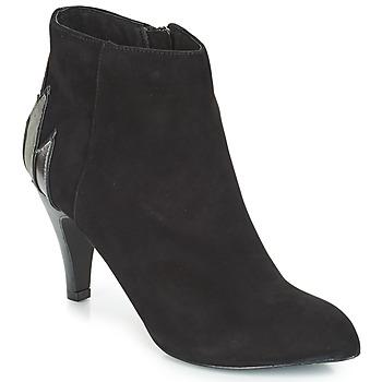 Schuhe Damen Low Boots André FICUS Schwarz