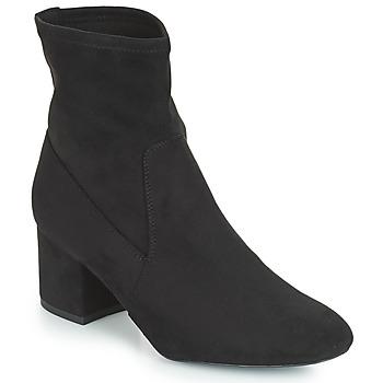 Schuhe Damen Boots André FAROUCHE Schwarz