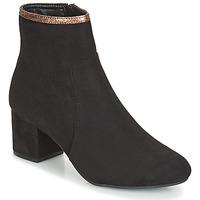 Schuhe Damen Low Boots André FALOU Schwarz