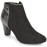 Schuhe Damen Boots André FLORIE Schwarz
