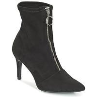 Schuhe Damen Low Boots André FIRE Schwarz