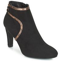 Schuhe Damen Low Boots André AUREL Schwarz