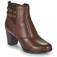 Schuhe Damen Boots André CARACAL Braun