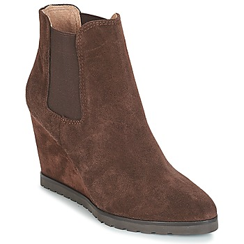 Schuhe Damen Low Boots André TONKA Braun