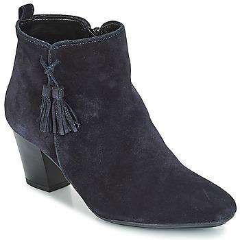 Schuhe Damen Low Boots André TINETTE Blau