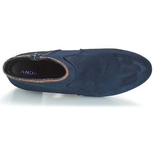 André André André FALOU Blau  Schuhe Stiefel Damen 46bbf9