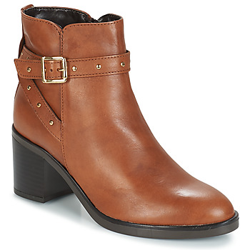 Schuhe Damen Low Boots André FRENCHY Braun