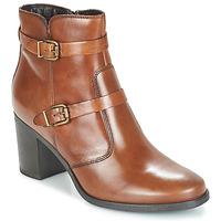 Schuhe Damen Boots André TORI Braun