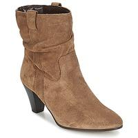 Schuhe Damen Low Boots André FANFAN Beige