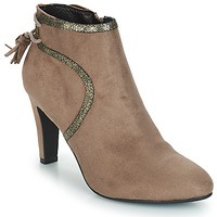 Schuhe Damen Boots André AUREL Beige