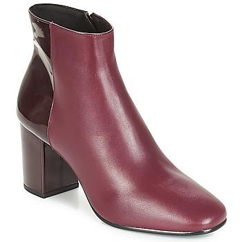Schuhe Damen Low Boots André FEMINI Bordeaux