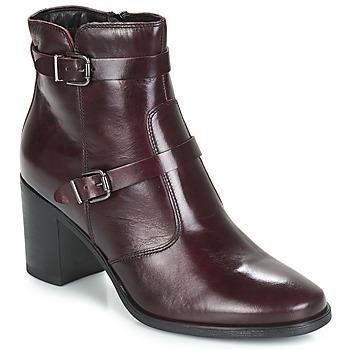 Schuhe Damen Boots André TORI Bordeaux