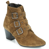 Schuhe Damen Low Boots André TRACY Kaki