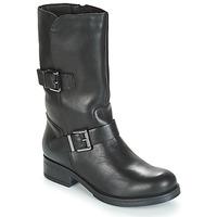 Schuhe Damen Klassische Stiefel André TOPI Schwarz