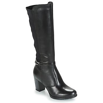 Schuhe Damen Klassische Stiefel André TANIA Schwarz