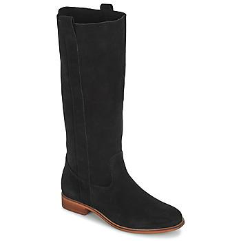 Schuhe Damen Klassische Stiefel André THEE Schwarz