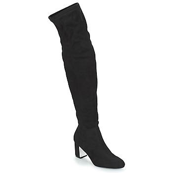Schuhe Damen Klassische Stiefel André FANN Schwarz