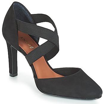 Schuhe Damen Pumps André FIONA Schwarz