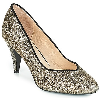 Schuhe Damen Pumps André ANGELIE Gold