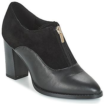 Schuhe Damen Low Boots André FLORES Schwarz