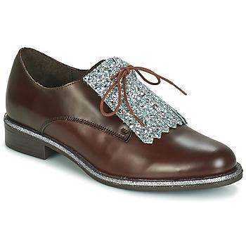Schuhe Damen Derby-Schuhe André FATOU Braun