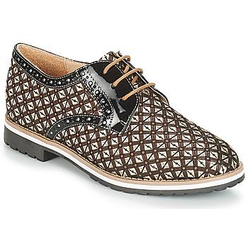Schuhe Damen Derby-Schuhe André DERIVEUR Braun