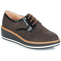 Schuhe Damen Derby-Schuhe André CHICAGO Braun