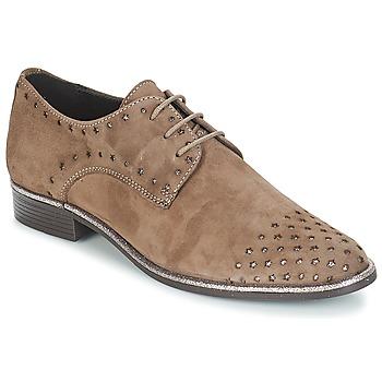 Schuhe Damen Derby-Schuhe André TWIN Beige