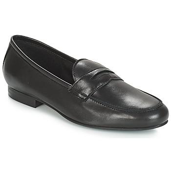 Schuhe Damen Slipper André TIM Schwarz