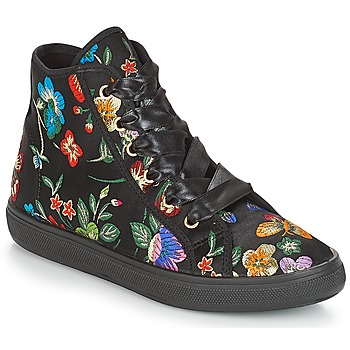 Schuhe Damen Sneaker High André TONY Multicolor