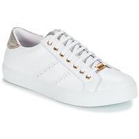 Schuhe Damen Sneaker Low André BERKELEY Weiss