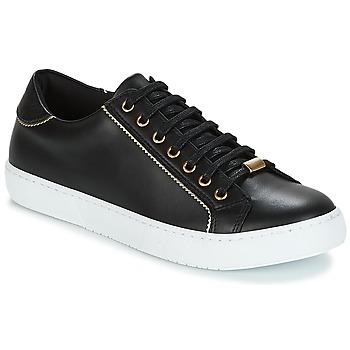 Schuhe Damen Sneaker Low André BERKELITA Schwarz
