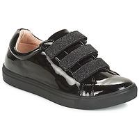 Schuhe Damen Sneaker Low André THYMUS Schwarz