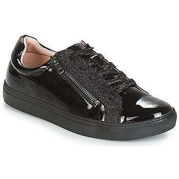 Schuhe Damen Sneaker Low André THYMIE Schwarz