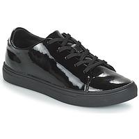 Schuhe Damen Sneaker Low André AGARI Schwarz