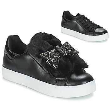 Schuhe Damen Sneaker Low André TELAMONE Schwarz