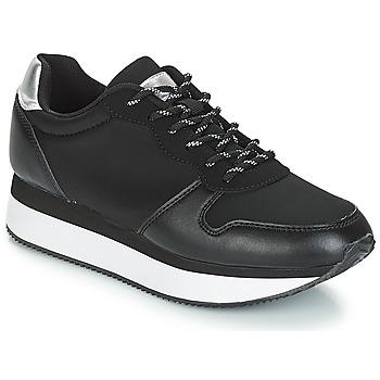 Schuhe Damen Sneaker Low André TYPO Schwarz