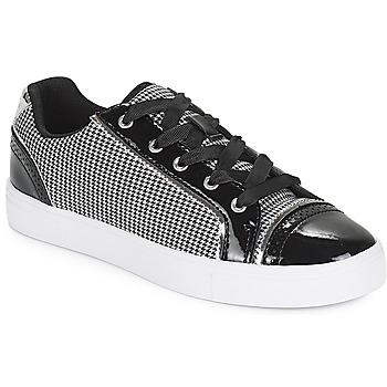Schuhe Damen Sneaker Low André ALCALIE Schwarz
