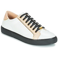 Schuhe Damen Sneaker Low André BERKELITA Weiss