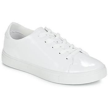 Schuhe Damen Sneaker Low André AGARI Weiss