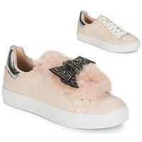 Schuhe Damen Sneaker Low André TELAMONE Beige