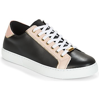 Schuhe Damen Sneaker Low André BERKELITA Schwarz / Beige