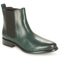 Schuhe Damen Boots André CARAMEL Grün