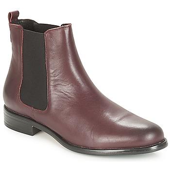 Schuhe Damen Boots André CARAMEL Bordeaux