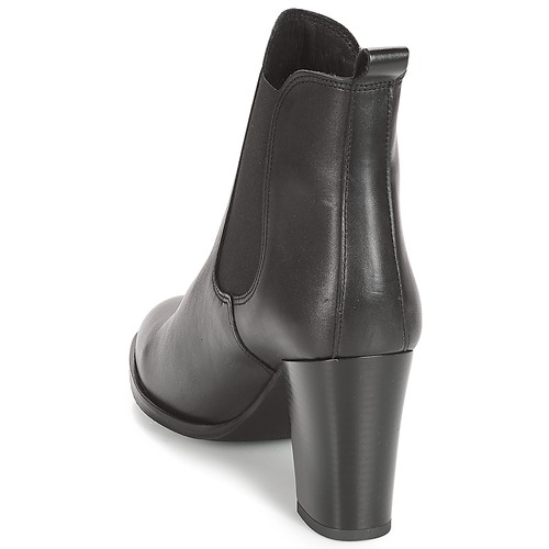 André CLAFOUTI Schwarz  Schuhe Low Boots Boots Boots Damen 33372c