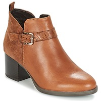 Schuhe Damen Low Boots André PATTY 3 Braun