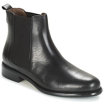 Schuhe Damen Boots André CARAMEL Schwarz