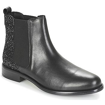 Schuhe Damen Boots André BEBOP Schwarz