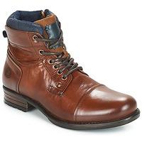 Schuhe Herren Boots André SACLAY Braun