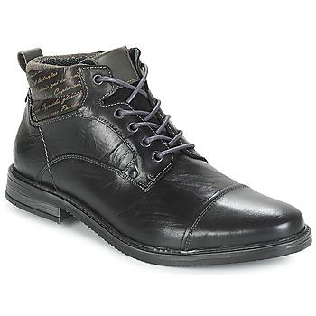 Schuhe Herren Boots André VERON Schwarz